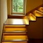 8 schodów - zestaw do oświetlenia schodów szerokość oświetlenia 30 cm