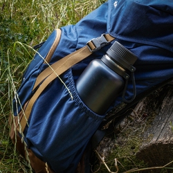 Butelka duża termiczna, granatowa, stalowa, 1 litr outdoor lurch lu-00240975