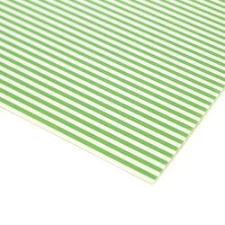 Papier ozdobny w paski 300g 24x34 cm - zielony - ziel