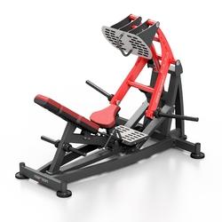 Maszyna na wolny ciężar do wypychania na nogi mf-u013 - marbo sport - bordowy  antracyt metalic