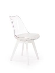 Krzesło k245 białetransparentne