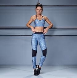 Zestaw fitness labellamafia set unbroken sporta bra strappy + legging