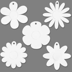 Papierowe kwiatki do zdobienia - zestaw