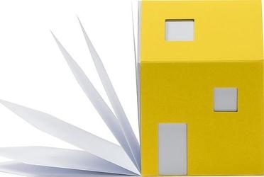 Notes house of notes bauhaus żółty