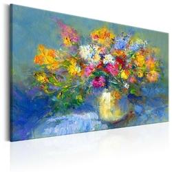 Obraz malowany - jesienny bukiet