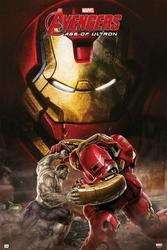 Avengers Age Of Ultron Hulkbuster - plakat filmowy