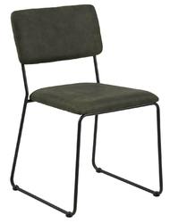 Krzesło cornelia olive green - zielony ciemny