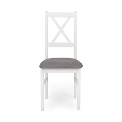 Krzesło drewniane willard białejasnoszare