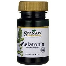 Swanson melatonina 3mg x 120 kapsułek