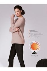 Rajstopy gabriella 412 warm up fashion 200 den melange