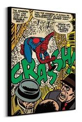 Spiderman crash - obraz na płótnie