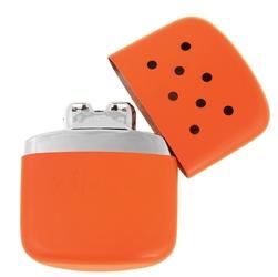 Pomarańczowy oryginalny kieszonkowy ogrzewacz benzynowy zippo + grawer - wliczony w cenę