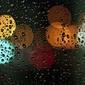Kolory deszczu - plakat premium wymiar do wyboru: 100x70 cm