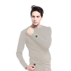 Koszulka glovii gj1 grey ogrzewana