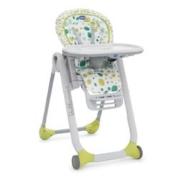 Chicco polly progres5 kiwi  krzesełko + pałąk z zabawkami