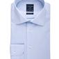 Elegancka błękitna koszula męska normal fit 37