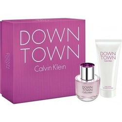 Set calvin klein downtown w edp 90ml + blo 200ml