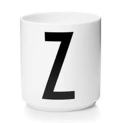 Kubek porcelanowy AJ litera Z