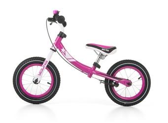 Milly mally young pink rowerek biegowy pompowane koła + prezent 3d