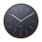 Karlsson :: zegar ścienny minimal black ø27,5cm