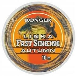 Przypon LINKA FAST SINKING AUTUMN 45Lbs  10m KONGER