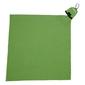Mini ręcznik turystyczny rockland 40 x 40 cm - zielony