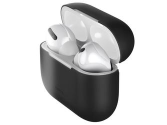 Etui silikonowe baseus super thin do apple airpods pro case black