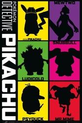 Detective pikachu pokemony - plakat