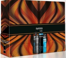 Syoss volume,  zestaw upominkowy dla kobiet, 3 elementy, szampon, odżywka, suchy szampon