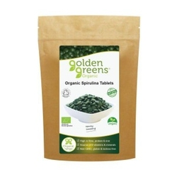 Spirulina bio 500mg 120 tablet greens organic