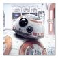 Star wars: the last jedi bb-8 peek - obraz na płótnie