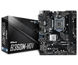 ASRock B360M-HDV s1151 2DDR4 HDMIDVIDSUBM.2 uATX