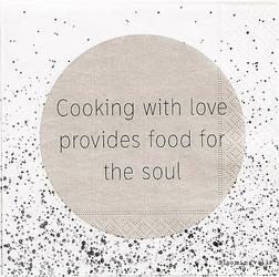 Serwetki Cooking with love... 20 szt.