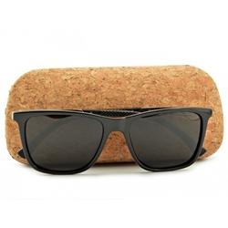 Okulary polaryzacyjne nerdy czarne pol-760