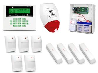 Alarm satel ca-10 lcd, 5xaqua plus, 4xvd-1, syg. zew. sp-500 - szybka dostawa lub możliwość odbioru w 39 miastach