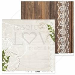 Ozdobny papier do scrapbookingu First Love 30,5x30,5 cm - 02 - 02
