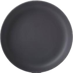 Talerz głęboki do serwowania 27 cm, porcelanowy, imitacja łupka basalt revol rv-654024-4