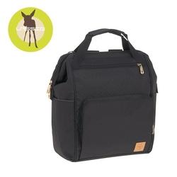 Lassig glam label plecak dla mam z akcesoriami goldie backpack black