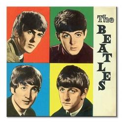 The beatles colours - obraz na płótnie