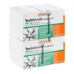 Ratiopharm czarci pazur, tabletki powlekane 480 mg