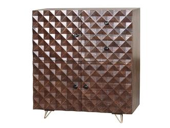 Drewniana komoda ilusion  wys. 110 cm