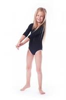 Body gimnastyczne bawełna b1 rękaw 34 shepa