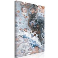 Obraz - blue sienna marble 1-częściowy pionowy