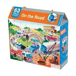 Puzzle mudpuppy - 63 elementy - na drodze