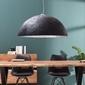 Interior space :: lampa wisząca blitz czarno-srebrna 50cm