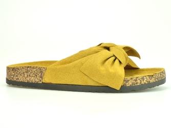 Klapki  vinceza  21-30124 żółty