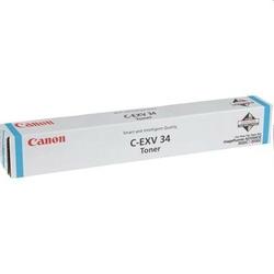 Toner Oryginalny Canon C-EXV 34 C 3783B002 Błękitny - DARMOWA DOSTAWA w 24h