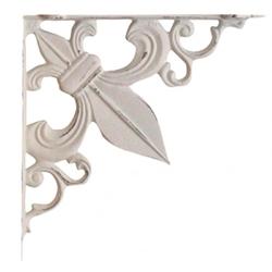 Chic antique: wspornik ozdobny lilijka