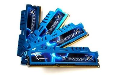 G.SKILL DDR3 32GB 4x8GB RipjawsX X79 1600MHz CL9 XMP