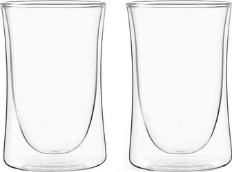 Szklanka z podwójnymi ściankami Classic Curve 2 szt. 250 ml